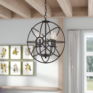 Easter 5-Light Globe Pendant