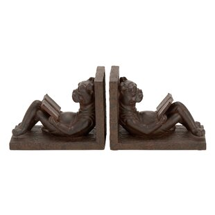 Strikingly Idea Bird Bookends. Polystone Bookends  Set of 2 Modern Contemporary You ll Love Wayfair