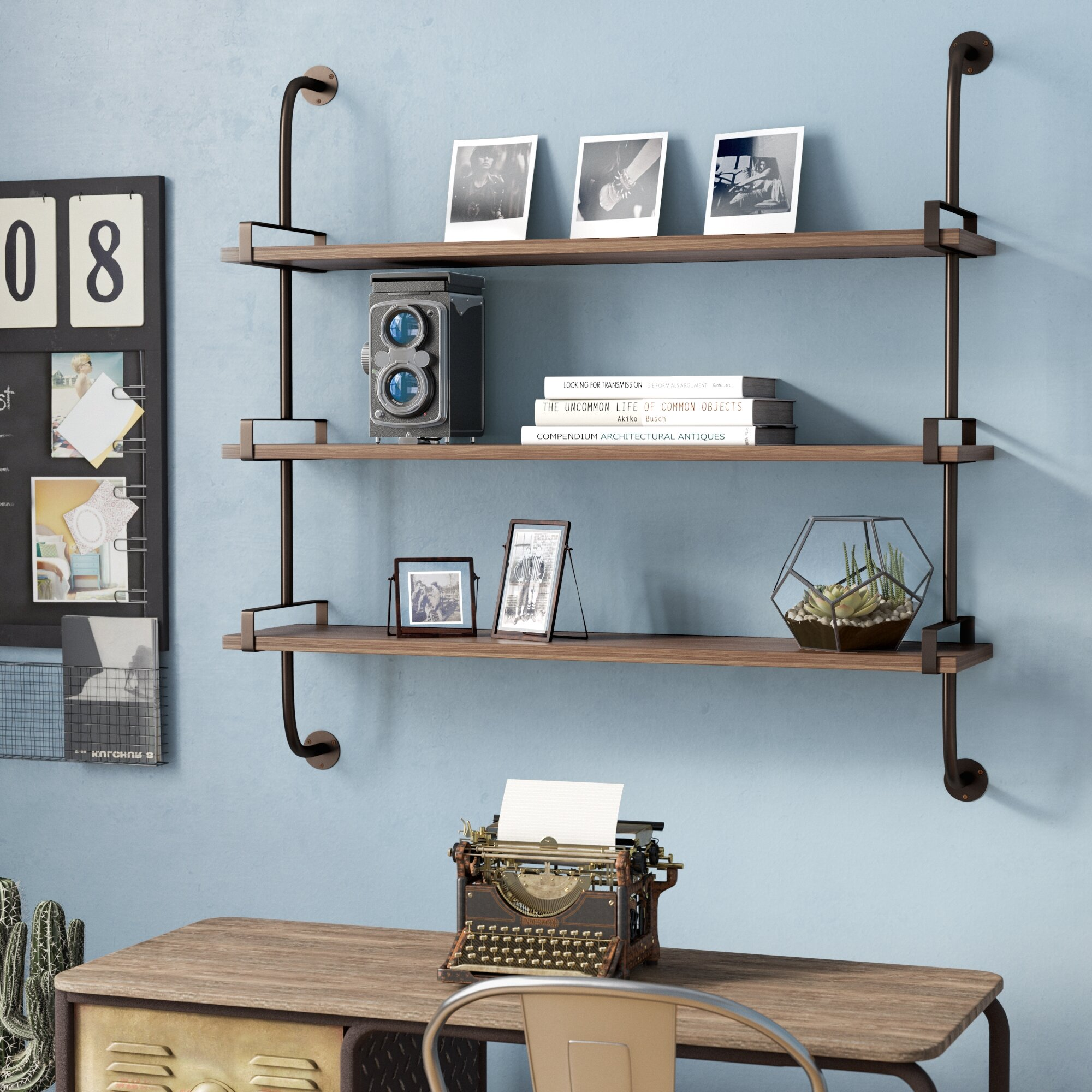 Trent Austin Design Fountain Valley Wood Wall Shelf & Reviews | Wayfair