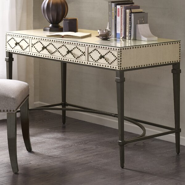 Darby Home Co Perez Nailhead Writing Desk U0026 Reviews | Wayfair