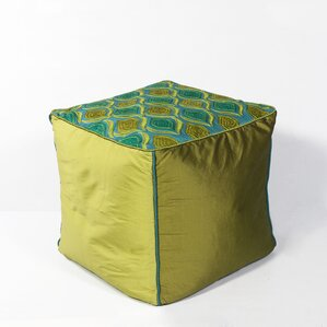 Pineview Pouf Ottoman by World Menagerie