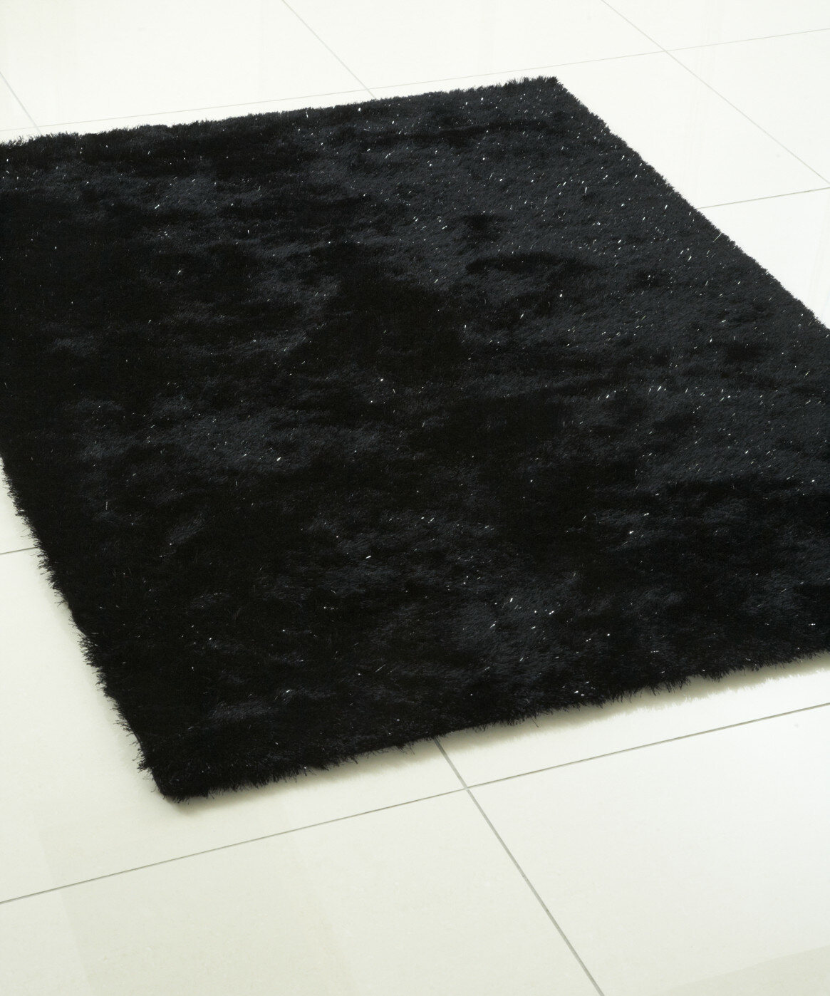 Hazelwood Home Whisper Hand Tufted Sparkle Black Area Rug Wayfair Co Uk