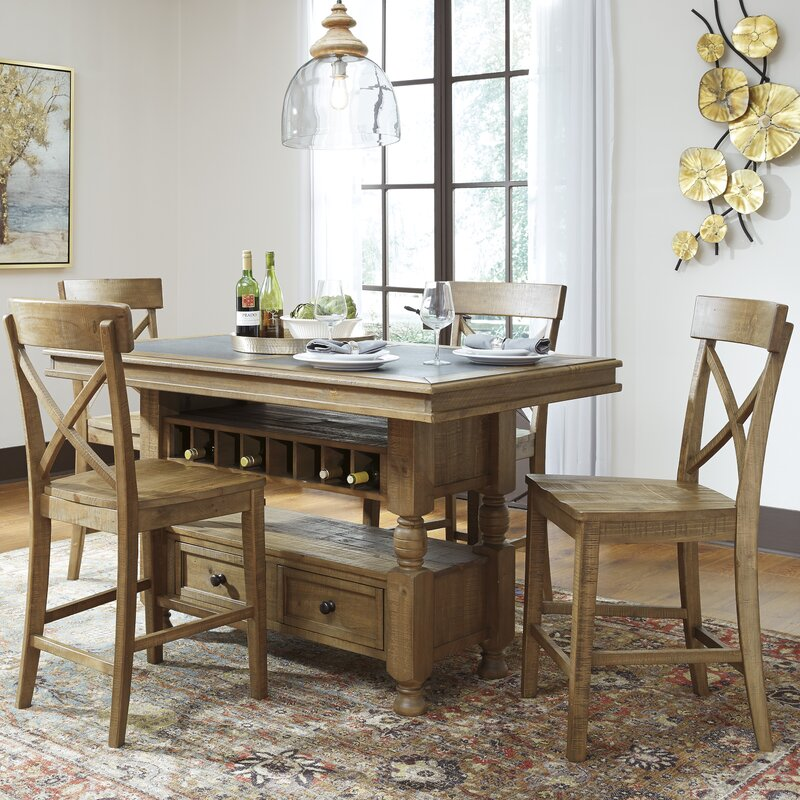 Signature Design by Ashley Trishley Counter Height Dining Table ...