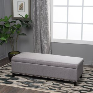 bench living room. Stipe Upholstered Storage Bench Benches You ll Love  Wayfair