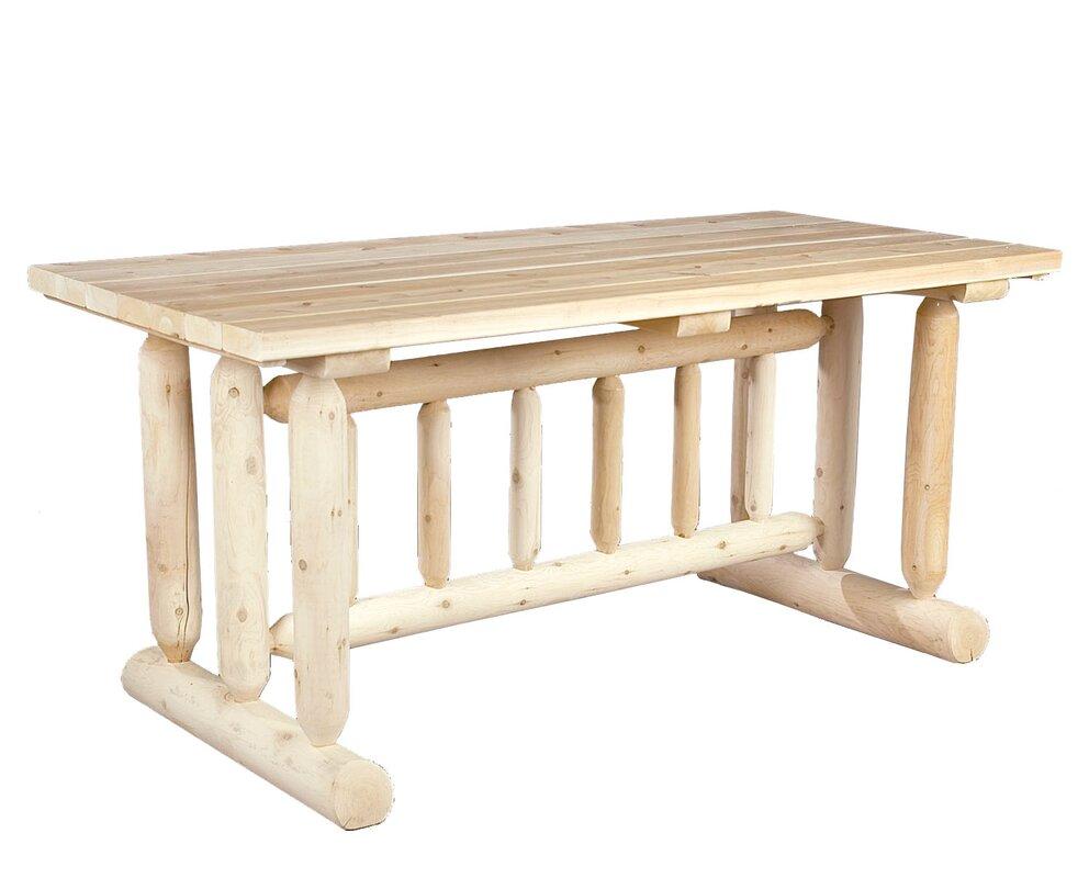 rustic natural cedar furniture wayfair