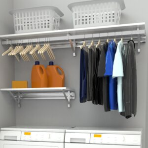 Arrange a Space Heavy Duty Laundry Room Organizer