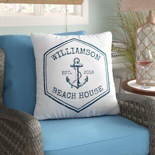 Monogram Pillows You\'ll Love | Wayfair