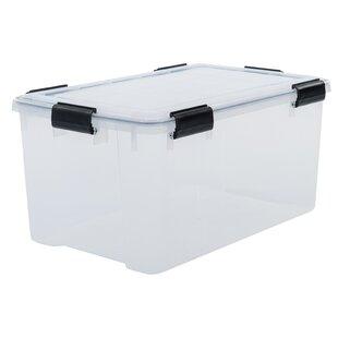 Air Tight Plastic Storage Box By IRIS