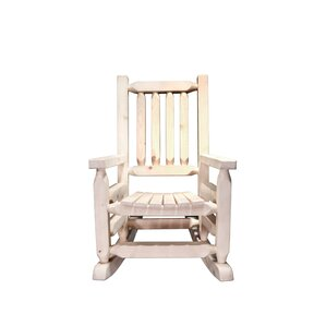 Abella Log Rocker Child's by Loon Peak