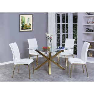 Wagner 5 Piece Dining Set