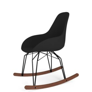 Diamond Dimple POP Rocking Chair by Kubikoff