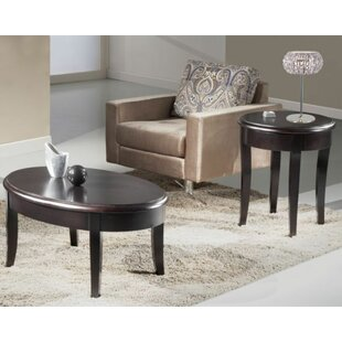 Merveilleux Transitional Coffee Table Set
