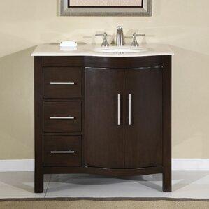 36 Bathroom Vanity right side sink vanity | wayfair