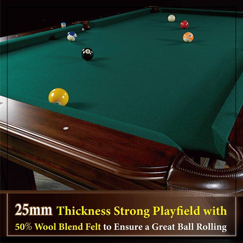 Barrington Billiards Company Barrington Woodhaven Pool Table - Rolling pool table