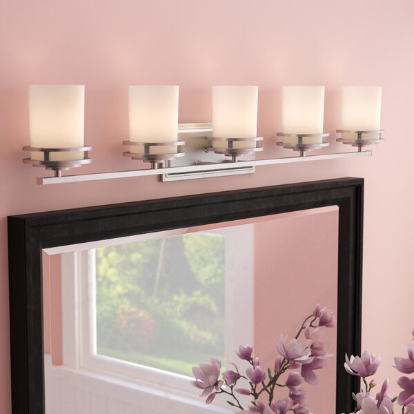 Andover Mills Clarkshire 5-Light Vanity Light & Reviews   Wayfair