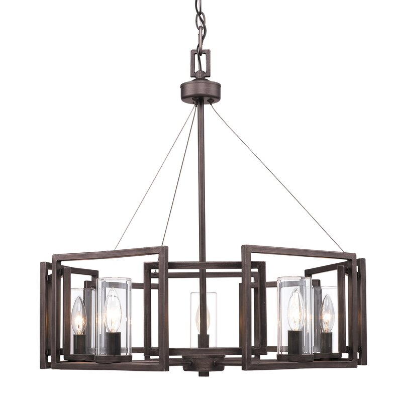 Sean candle style chandelier reviews allmodern sean candle style chandelier aloadofball Image collections
