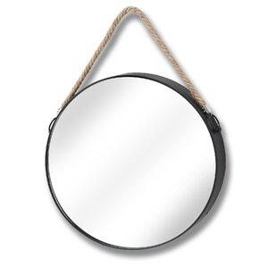 Circular with Hang Rope Wall Mirror