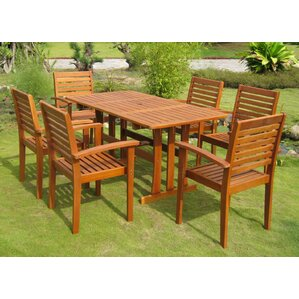 Wood Patio Furniture You\'ll Love | Wayfair