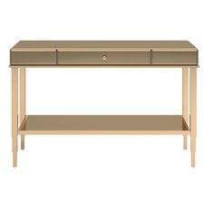 calisto mirrored console table