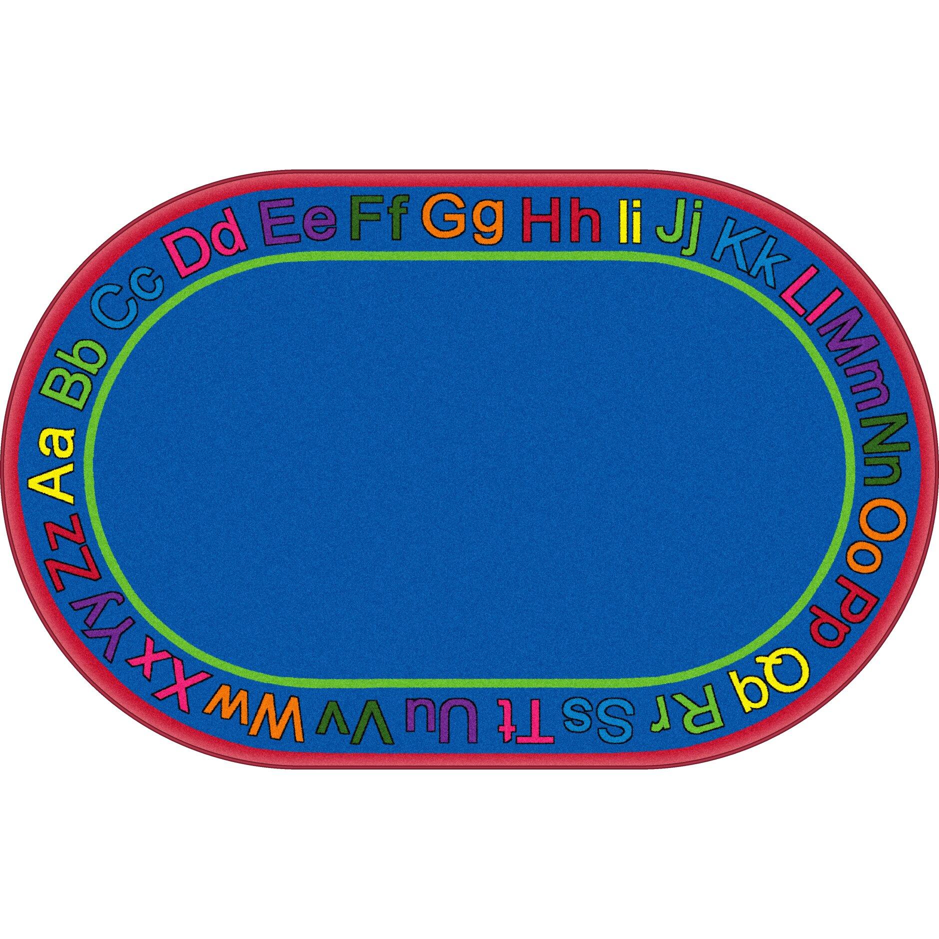 Flagship Carpets ABC Blue Area Rug & Reviews
