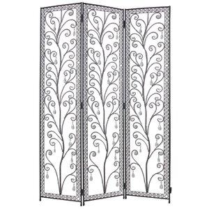 172cm x 120cm Venezia Decorative 3 Panel Room Divider