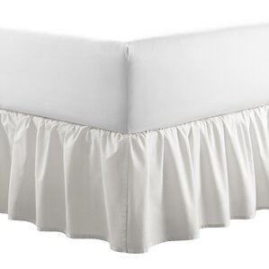 La Solid Ruffled 150 Thread Count Bed Skirt