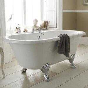 Grosvenor 150cm x 74.5cm Freestanding Soaking Bathtub