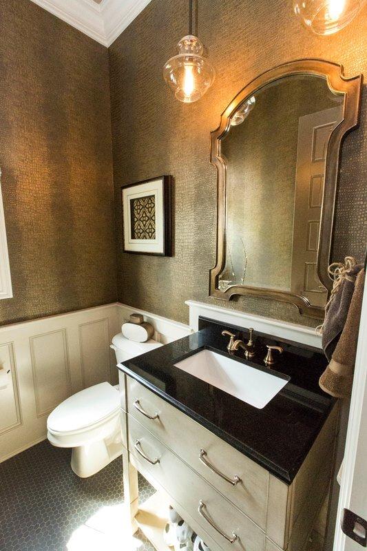 Uttermost Mirror Glam Bathroom Design. Glam Bathroom Photos  Design Ideas  Pictures  amp  Inspiration   Wayfair