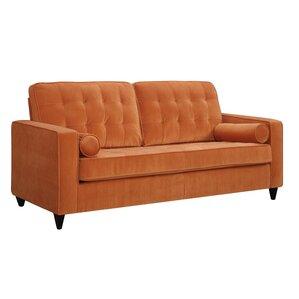 orange sofas youll love wayfair. Interior Design Ideas. Home Design Ideas