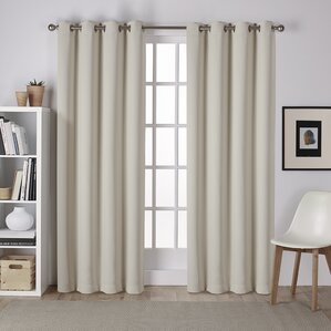 Tamara Sheer Grommet Curtain Panels (Set Of 2)
