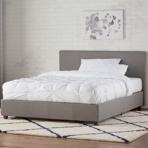 spruce hill upholstered platform bed - Upholstered Bed Frame