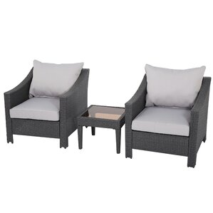 3-Piece Walter Patio Seating Group
