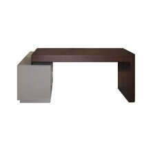 Waterhouse L-Shape Computer Desk with Hutch