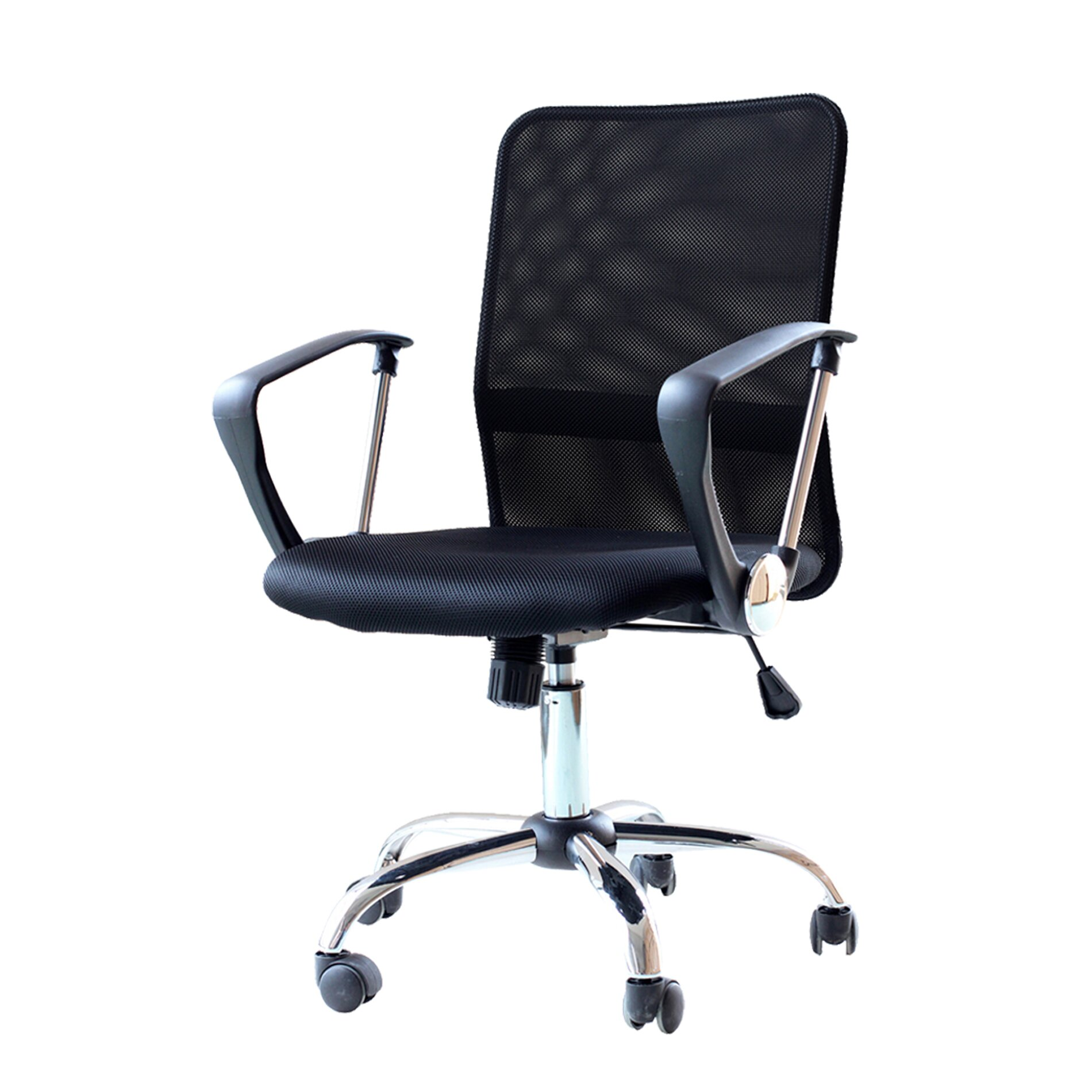 IDSOnlineCorp Ergonomic Adjustable Mid Back Mesh Desk