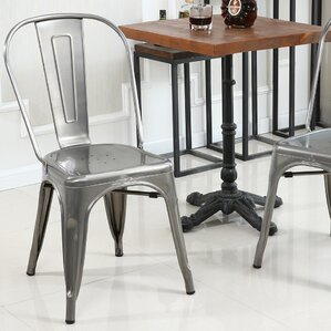 Vauxhall Side Chair (Set Of 4)  Metal Kitchen Chairs