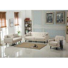 Belves 3 Piece Living Room Set