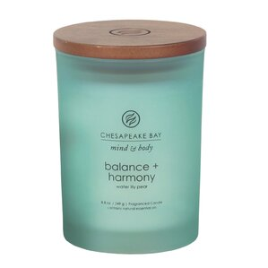 Mind & Body Balance and Harmony Waterlily Pear Jar Candle