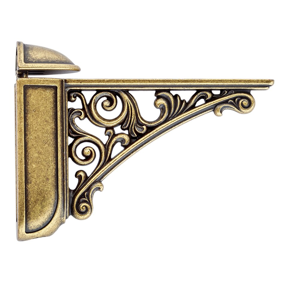 viola deep decorative shelf bracket - Decorative Metal Shelf Brackets