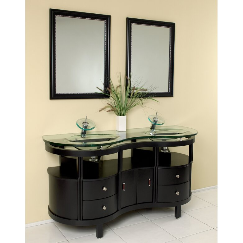 Fresca Classico 63 Double Unico Modern Bathroom Vanity