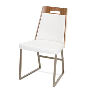 Tyler Genuine Leather Upholstered Dining Chair by Elite Modern