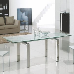 Frosty Extendable Dining Table by Casabianca Furniture