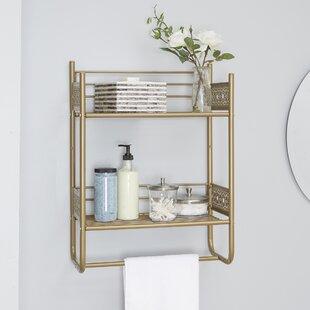 Bathroom Wall Shelves You'll | Wayfair.ca on stool for bathroom, tools for bathroom, clock for bathroom, lamp for bathroom, wall shelf bedroom, towel bar for bathroom, bowl for bathroom, bookshelves for bathroom, floating shelves for bathroom, art for bathroom, toilet paper holder for bathroom, cabinet for bathroom, table for bathroom, wire basket for bathroom, wall shelf bar, white for bathroom, vanity for bathroom, storage for bathroom, paint for bathroom, wall shelf furniture,