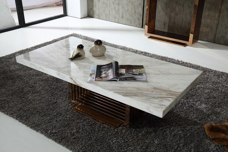 Fresh Marble Coffee Table Design Ideas