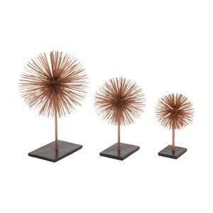 3 Piece 3D Table Top Sculpture Set