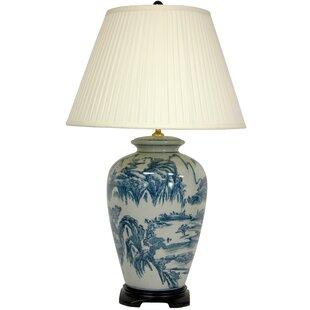 Rosso Landscape Oriental 29 Table Lamp