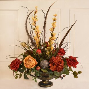 Extra tall floral arrangements wayfair silk flower floral arrangement mightylinksfo