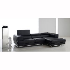 Sunikka Stitch Reclining Sectional by Orren Ellis