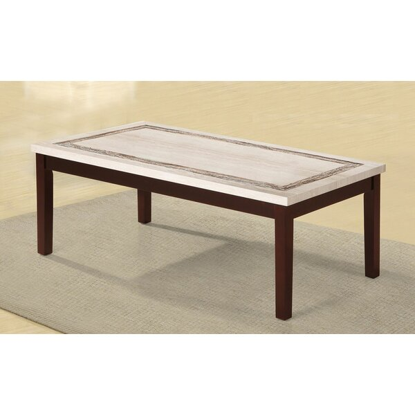 Wood And Granite Coffee Table