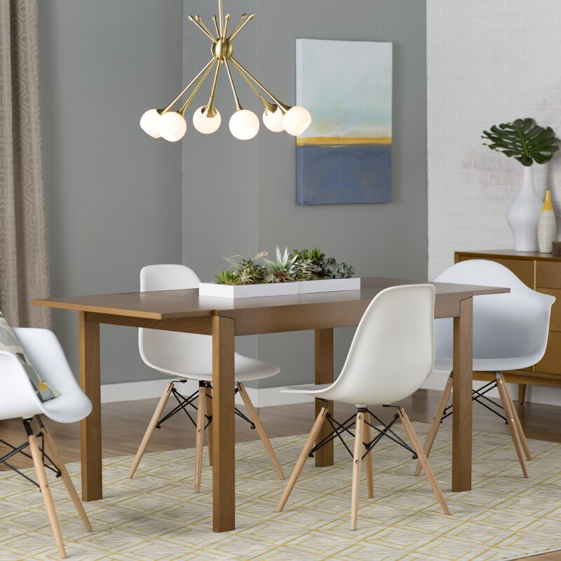 Brook Modern Solid Wood Dining Chair