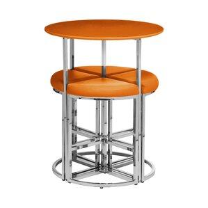 5 piece bar table set